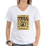 Billy's Funeral Women's V-Neck T-Shirt