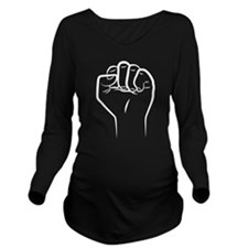 Punch Long Sleeve Maternity T-Shirt