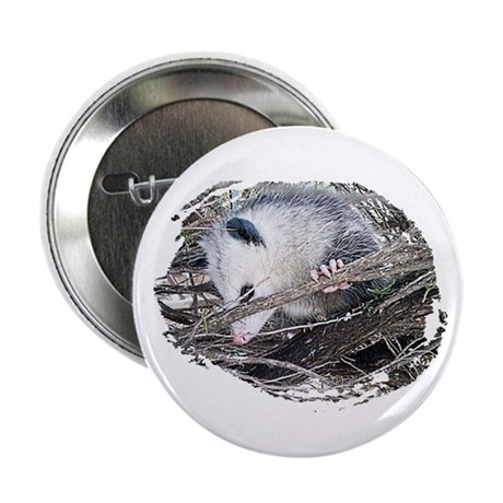 "Peek-a-Boo Possum 2.25"" Button (100 pack)"