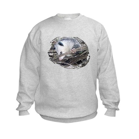Peek-a-Boo Possum Kids Sweatshirt