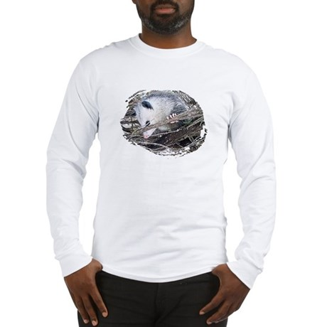 Peek-a-Boo Possum Long Sleeve T-Shirt