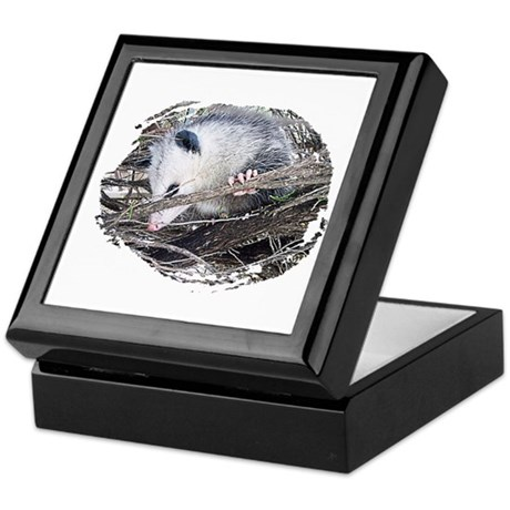 Peek-a-Boo Possum Keepsake Box