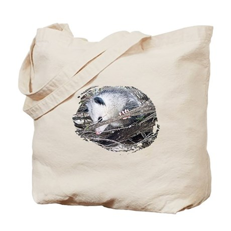 Peek-a-Boo Possum Tote Bag