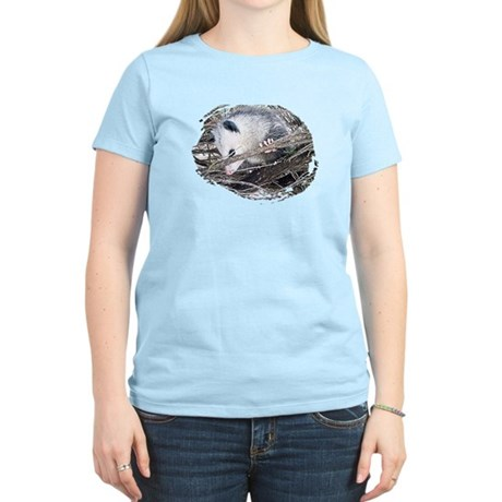 Peek-a-Boo Possum Women's Light T-Shirt