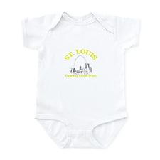 St. Louis . . . Gateway to th Infant Bodysuit