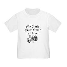 My Uncle Is A Biker (Custom) T-Shirt