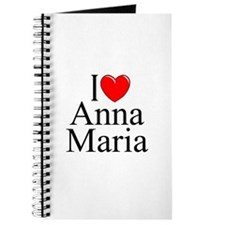 """I Love Anna Maria"" Journal"