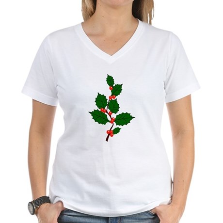 Holly Women's V-Neck T-Shirt
