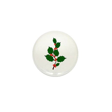 Holly Mini Button