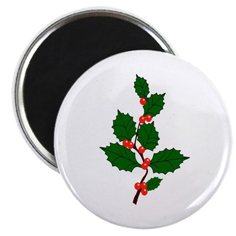 "Holly 2.25"" Magnet (10 pack)"