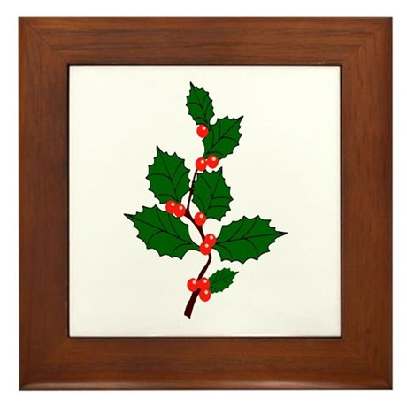 Holly Framed Tile