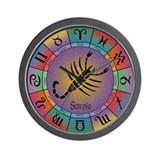 Scorpio the Scorpion Wall Clock