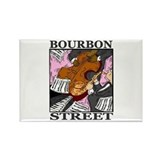 Bourbon Street Rectangle Magnet