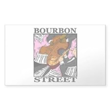 Bourbon Street Rectangle Decal