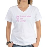 Wear pink for Jaclyn Shirt