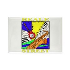 Beale Street Rectangle Magnet (10 pack)
