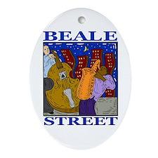 Beale Street Oval Ornament