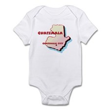 Guatemala Map Infant Bodysuit