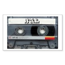 Rectangle Sticker cassette