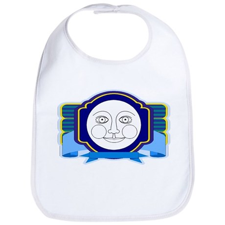 Blue Moon Face Bib
