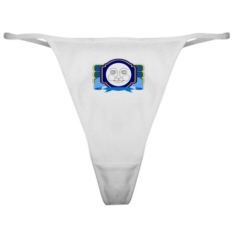 Blue Moon Face Classic Thong