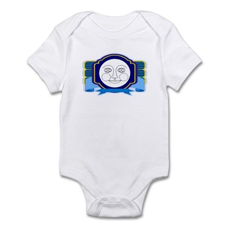 Blue Moon Face Infant Bodysuit