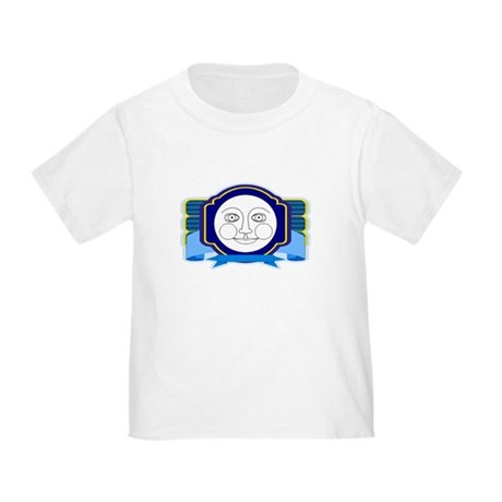 Blue Moon Face Toddler T-Shirt