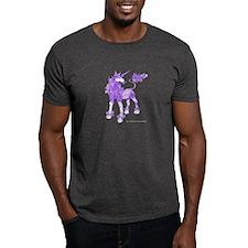 Purple Dappled Unicorn T-Shirt