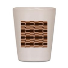 Chocolate Bars Shot Glass