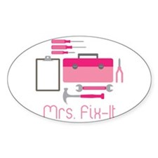 Mrs. Fix -it Decal