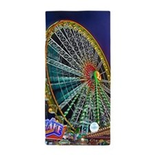 The Ferris Wheel Beach Towel