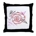 Anrgy Throw Pillow
