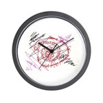 Anrgy Wall Clock