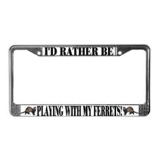 """Rather Be"" License Plate Frame"