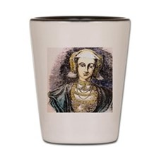 Anne of Cleves, Wife of Henry VIII. Shot Glass