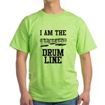 Quad Drummer Green T-Shirt