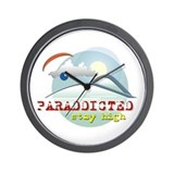 Unique Paraglider Wall Clock