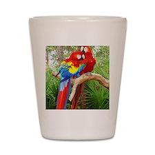 Parrot Shot Glass