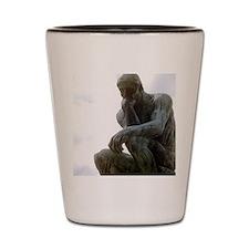 The Thinker. By Rodin. 1906. France. Shot Glass