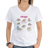 Cat YOGA POSES Shirt