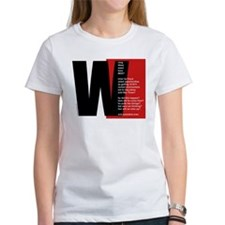 """W"" stands for... (Woman's T)"