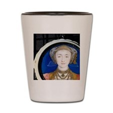 Anne of Cleves by Holbein, 1515-1557, W Shot Glass