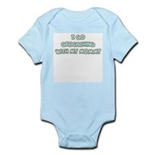 Geocaching Mommy Infant Bodysuit