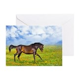 Running Horse-- Greeting Cards (Pk of 10)