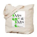Mrs and Mrs Tote Bag