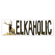 Elkaholic Bumper stickers for Bumper Bumper Sticker