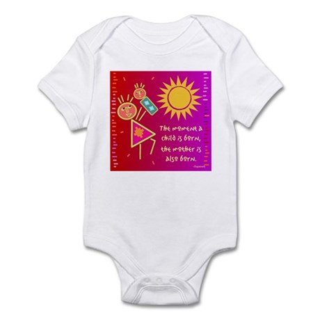 A Mother is Born Infant Bodysuit