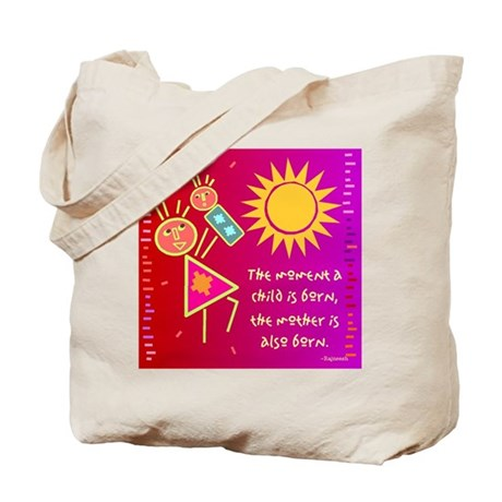 A Mother is Born Tote Bag
