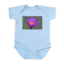 Purple Lotus Flower Body Suit