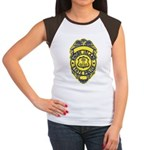 Rhode Island State Police Women's Cap Sleeve T-Shi